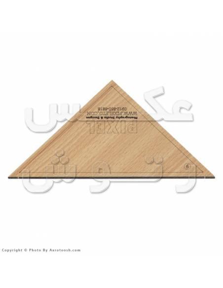 گیفت تاشو مثلثی سایز 15*15