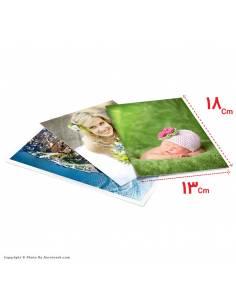 سفارش آنلاین چاپ عکس سایز  18*13 با امکان طراحی آنلاین روی عکس