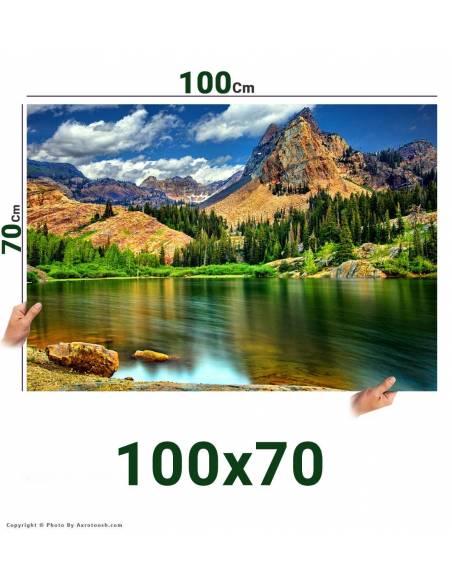 سفارش آنلاین چاپ عکس سایز 70*100 با امکان طراحی آنلاین روی عکس