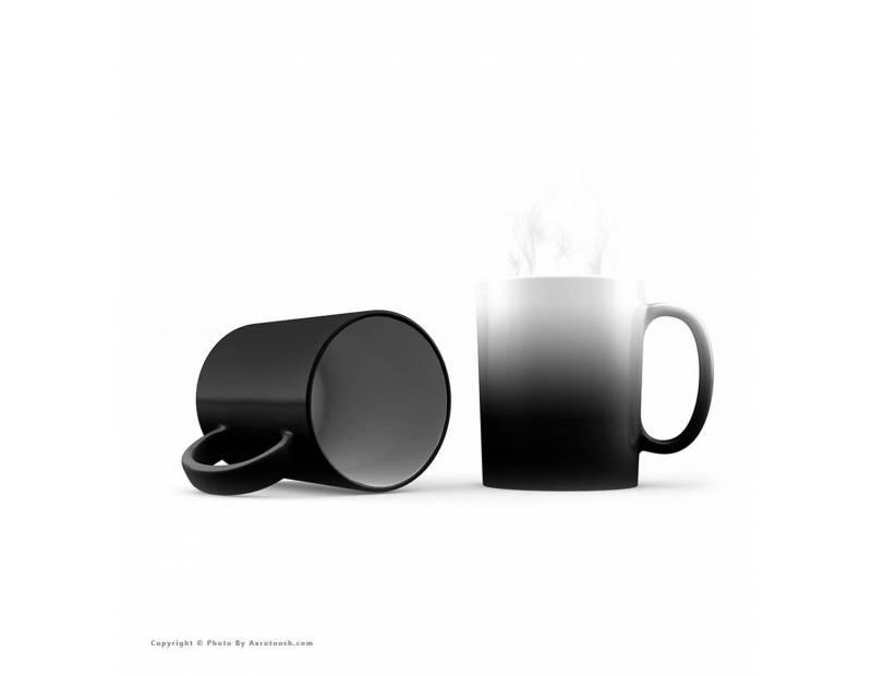 طراحی آنلاین و چاپ عکس روی لیوان (ماگ) لیوان حرارتی ( جادویی )