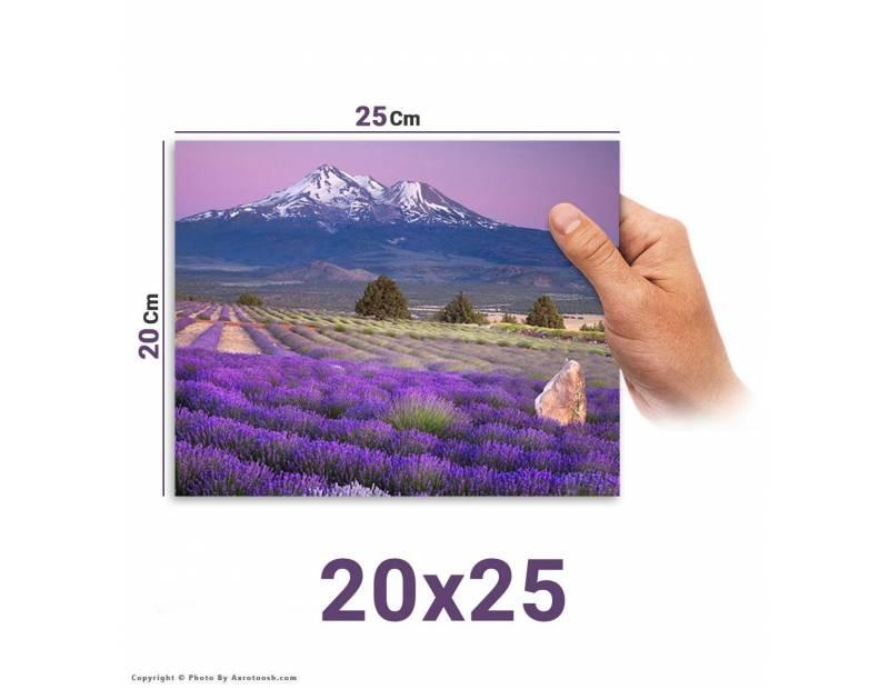 سفارش آنلاین چاپ عکس سایز 25*20 با امکان طراحی آنلاین روی عکس