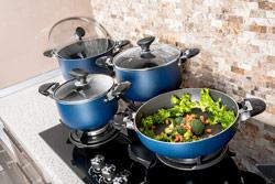 عکاسی صنعتی از ظروف آشپزخانه جهت تبلیغات و استفاده در بنر فروشگاه اینترنتی