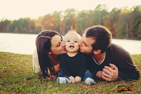 عکاسی کودک با خانواده