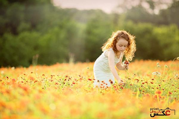 استفاده از محیط در عکاسی کودک