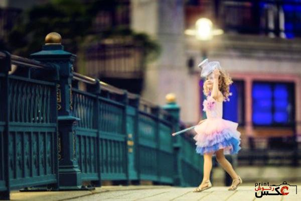 استفاده از زمان در عکاسی کودک