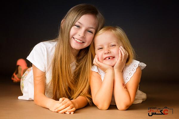 ژست های مختلف کودک در عکاسی