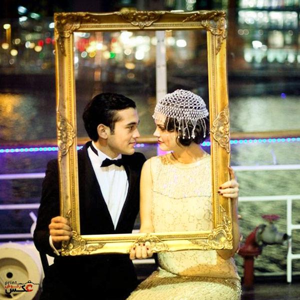 عکاسی عروس در یک قاب